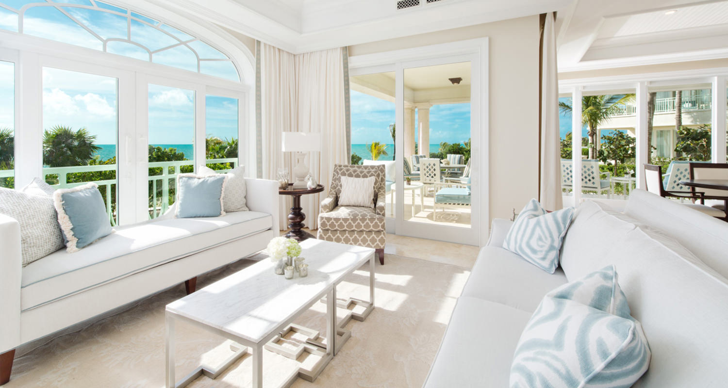The shore club Deluxe Ocean front Living room Ground Floor