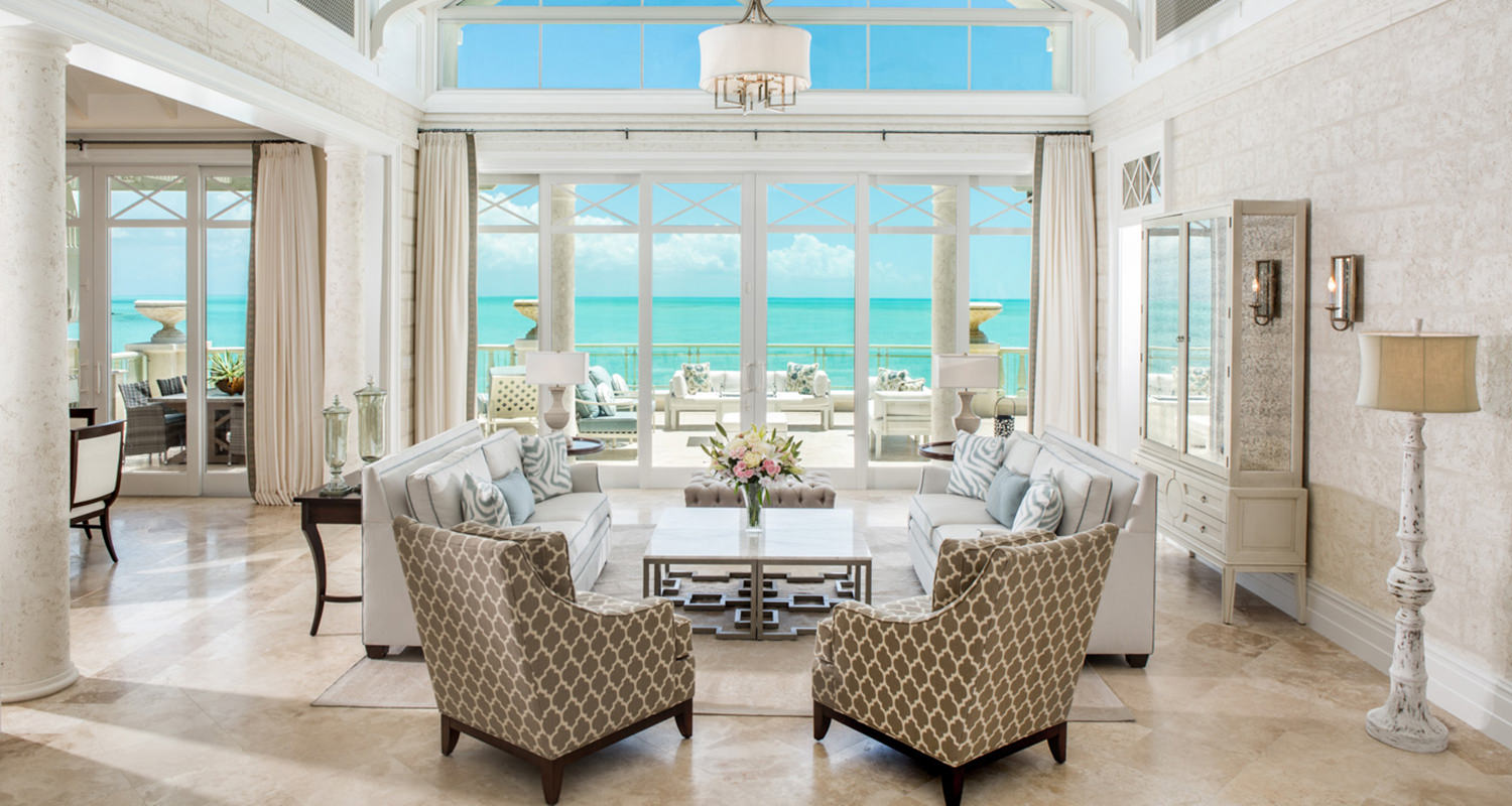 The shore club Executive Penthouse Living room 4