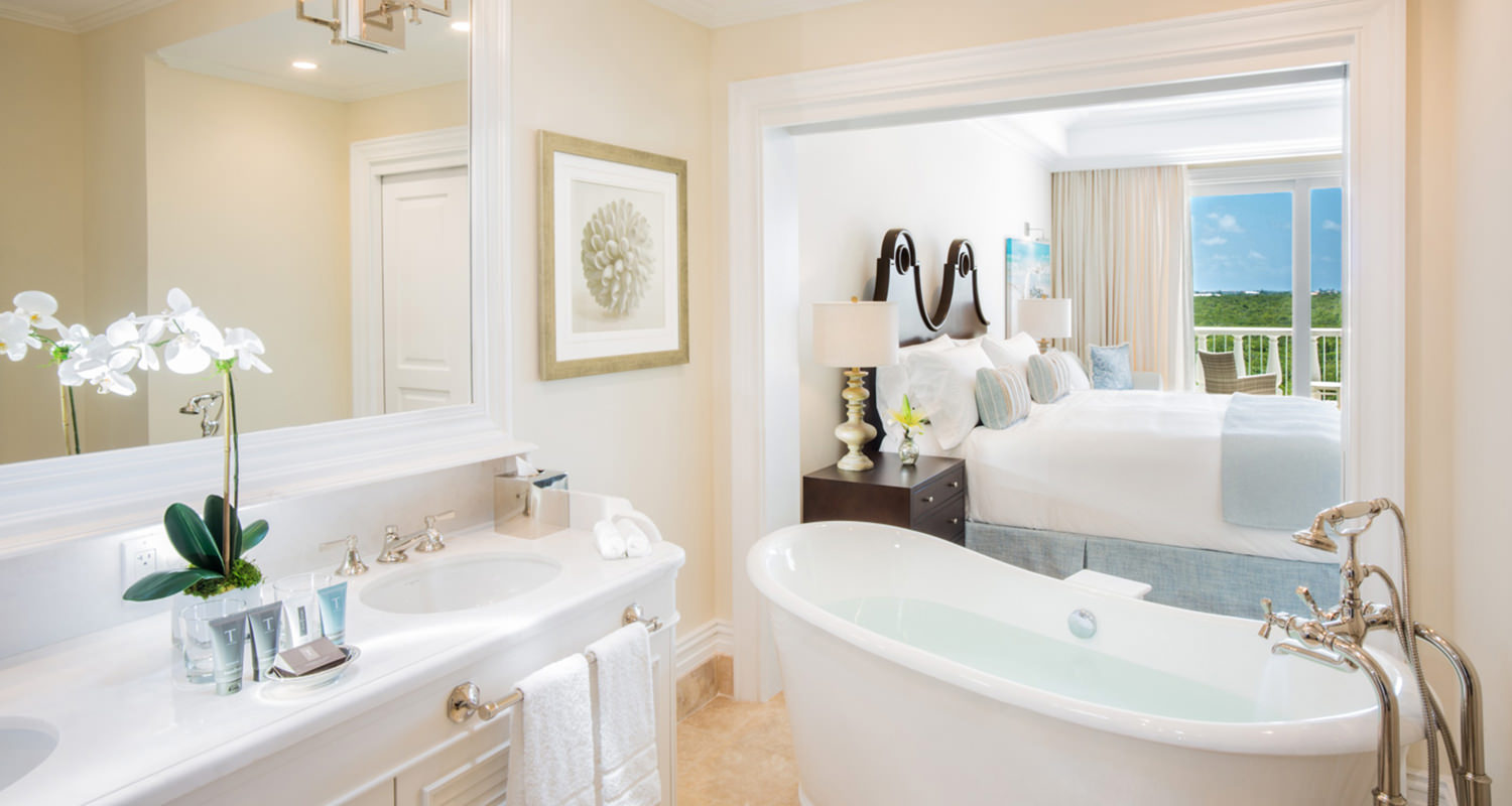 The shore club Junior Suite Bath 2