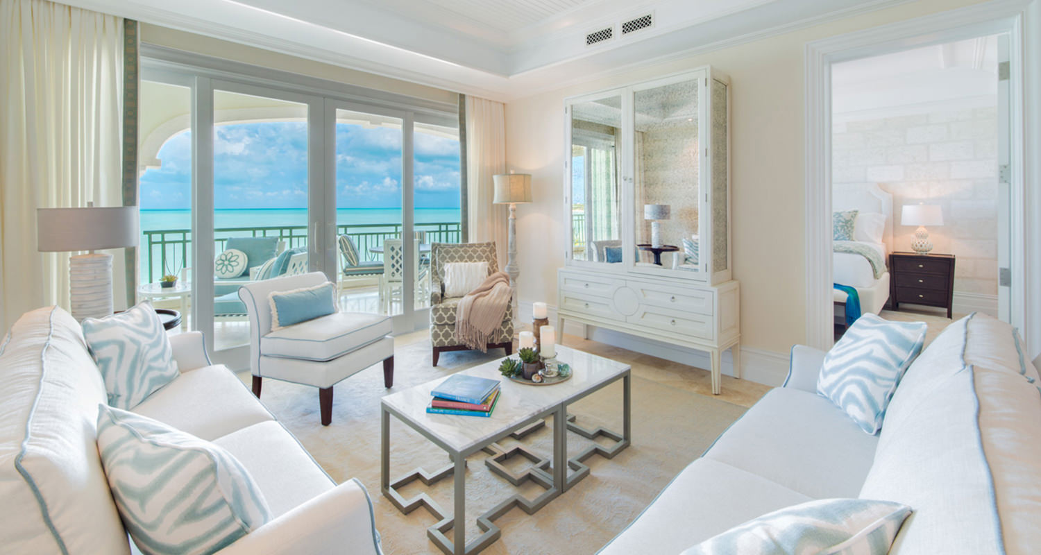 The shore club Ocean Front Living Room