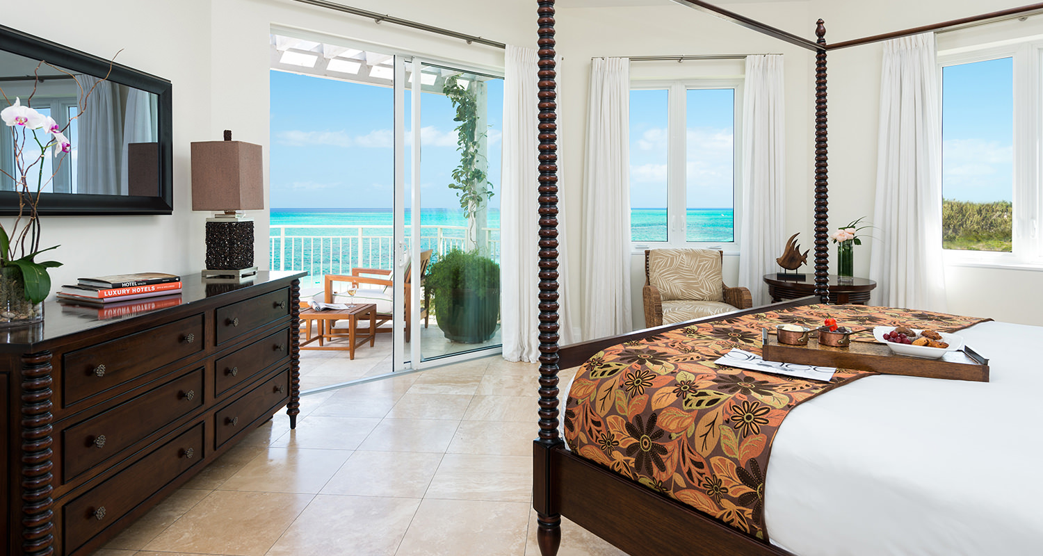 West Bay Club Ocean Premier Ocean Front 3 Bedroom Suite-Master Bedroom