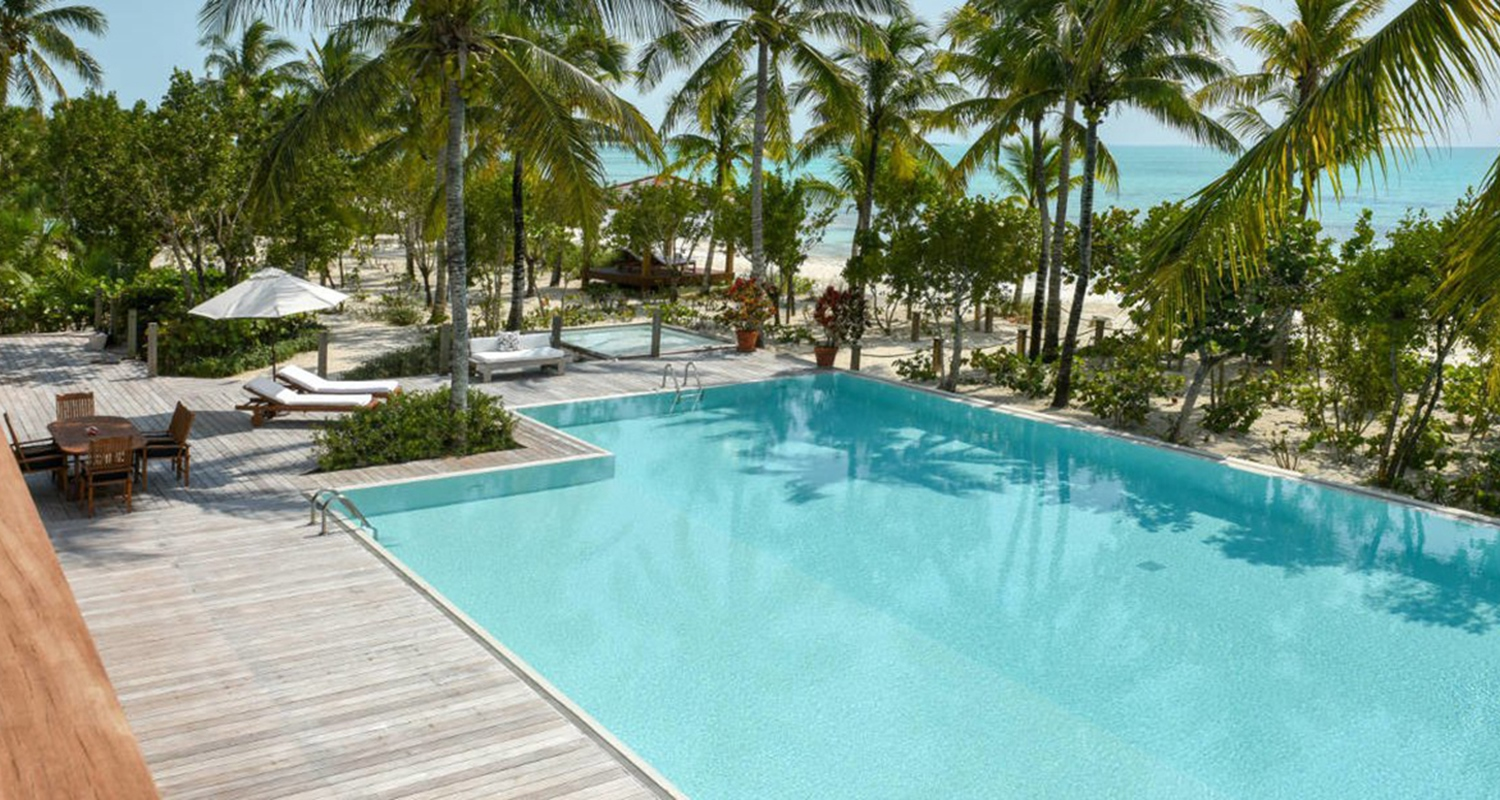 COMO Parrot Cay Estates - The Residence Main House - Pool
