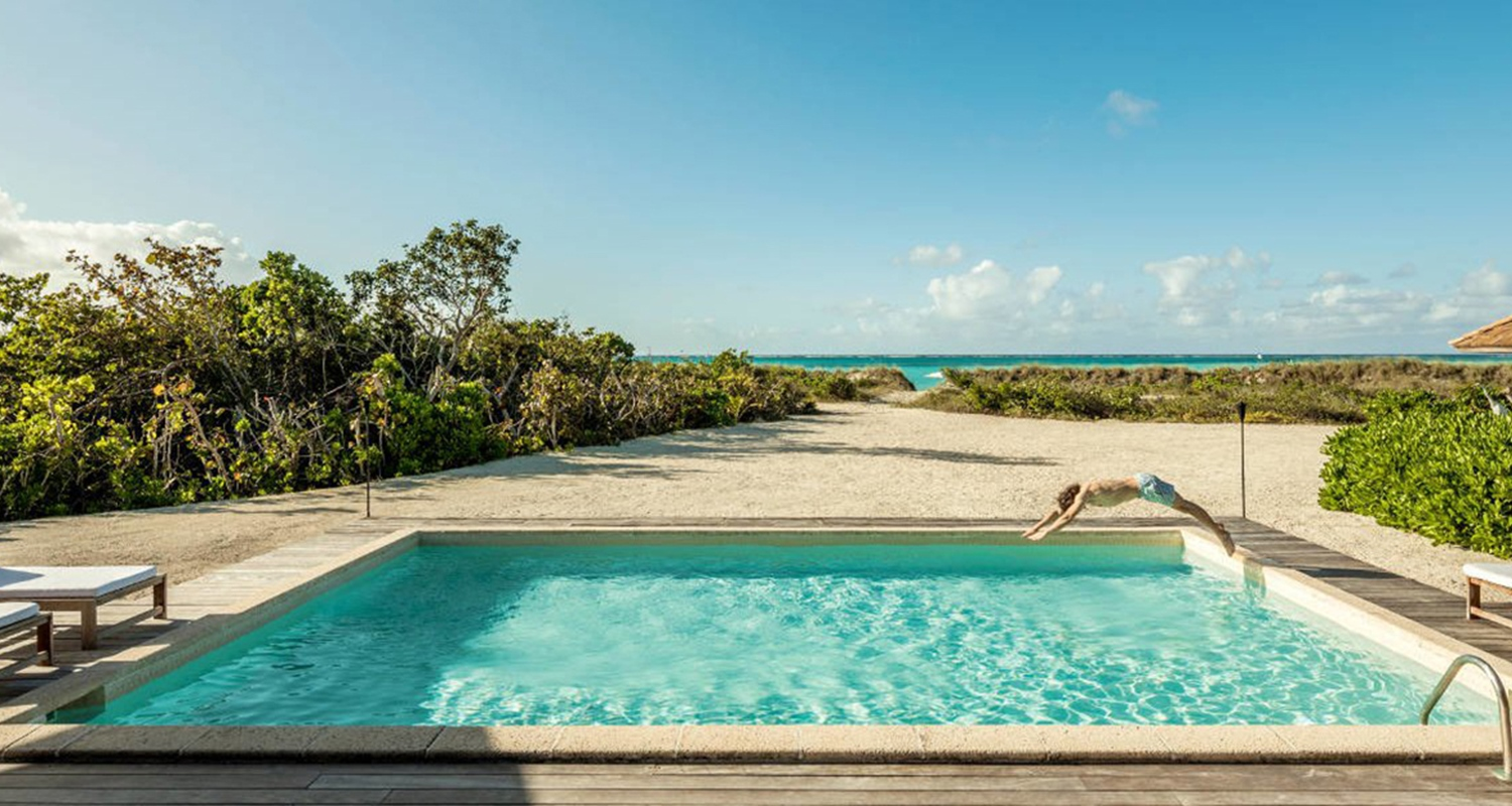 COMO Parrot Cay - Two Bedroom Beach Villa - Pool