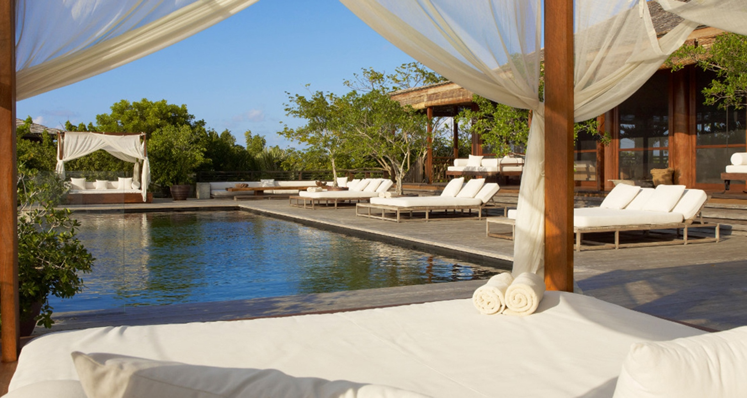 Parrot Cay - Private Estate - Sanctuary main house daybed