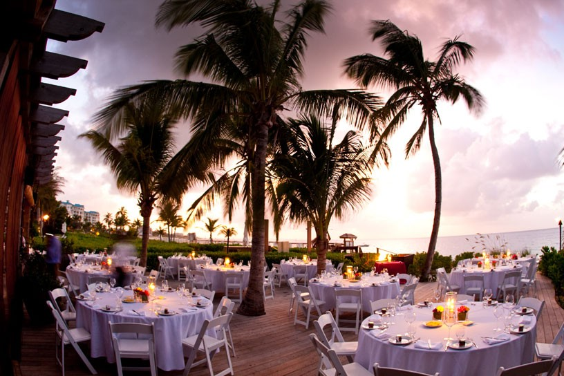 Romance the evening away at one of Provo's amazing beachfront restaurants